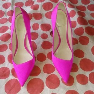 Shoes - Sexy Pink Pumps